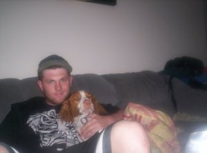 Sad that one half of Sleeper Pick uses photos of some random cute dog on his facebook profile to attract women. Sad.